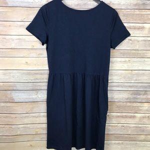 Boden Short Sleeve Cotton Dress w/ Side Pocket